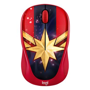 Chuột wireless không dây Logitech M238 Captain Marvel chính hãng