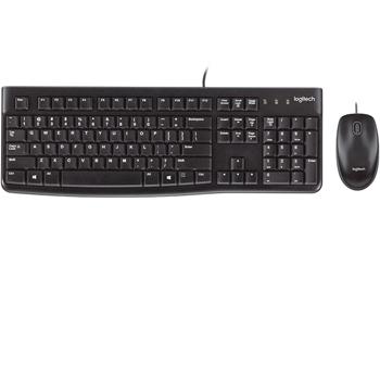 Combo Bàn phím và chuột Logitech K120 ( Có dây ) chính hãng