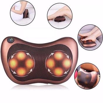 Gối massage 8 bi japan đèn 7 màu